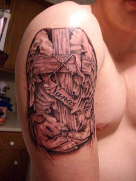 grandma tattoo designs memorial on arm