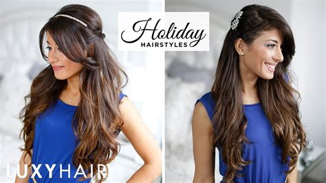 easy to make open hairstyles 3 party hairstyles youtube