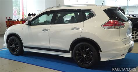 nissan impul nissan x trail impul edition launched from rm150k image