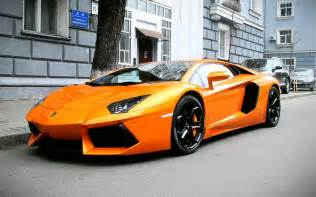 Orange Lamborghini Lamborghini Aventador Lp 700 4 Supercars Orange Wallpaper