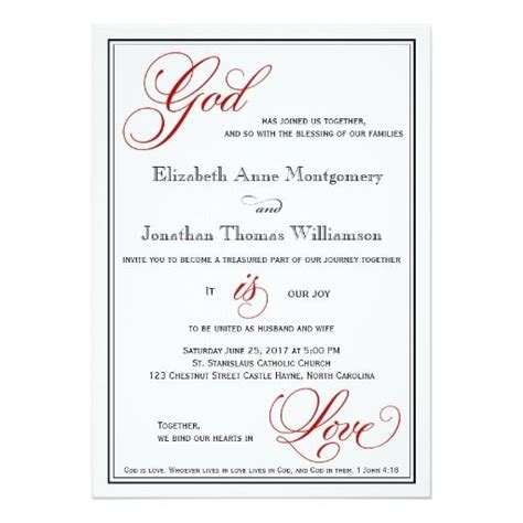 Wedding Invitation Word God by 1000 Images About Christian Wedding Invitations On