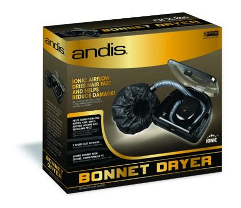 andis 500 watt professional bonnet hair dryer black 80610 buy in uae health and