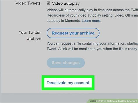 the simplest way to delete a account wikihow