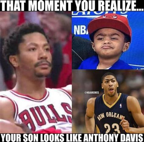 Derek Rose Meme - derrick rose s realization about his son bulls http