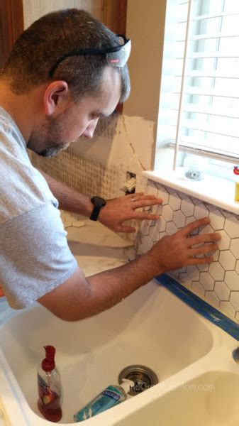 how to lay tile backsplash kitchen renovation reveal how to lay backsplash tile