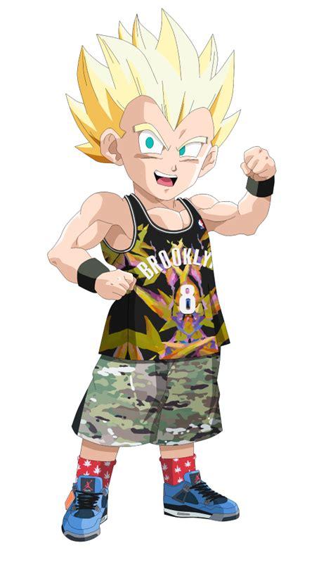 Iphone 8 Supreme Kid Goku Hardcase 1 ssj gontenks shemar dragons