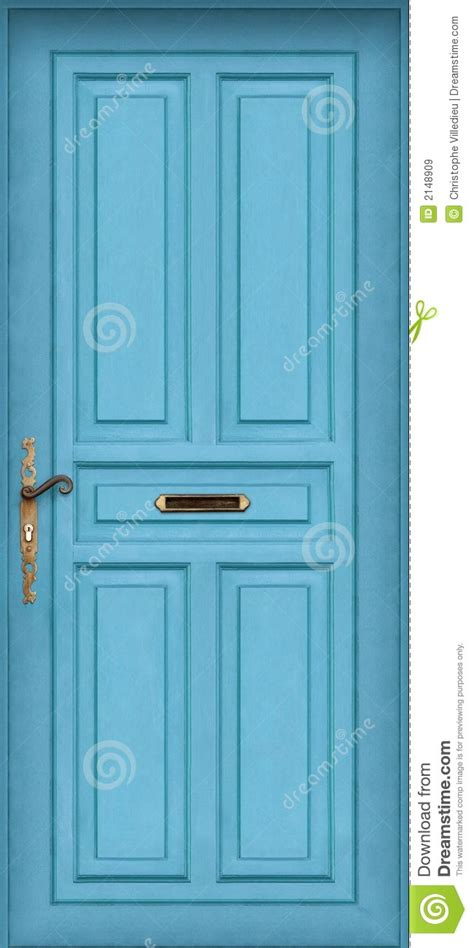 Letter Boxes For Front Doors Blue Door With Letter Box Royalty Free Stock Images Image 2148909