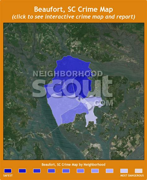 beaufort sc map beaufort sc crime rates and statistics neighborhoodscout