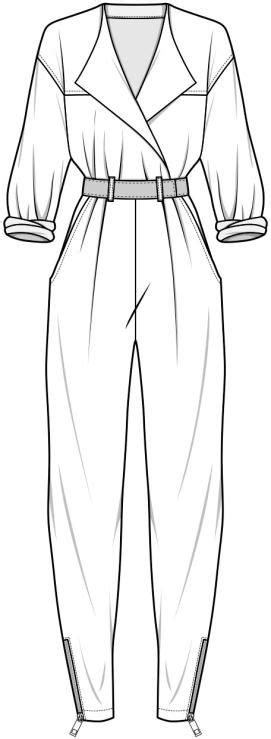 jumpsuit template the world s catalog of ideas