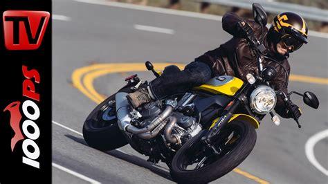 Motorrad Videos Ducati by Video 2015 Ducati Scrambler Test Action Offroad Fazit