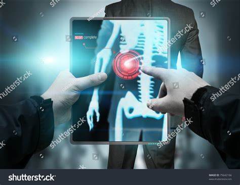 Information Technology In Diagnostics future technology portable scanner scanning stock photo 75642166