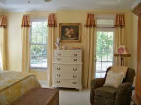 Master Bedroom Curtain Ideas another view before the curtains