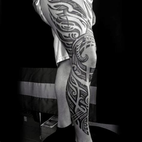 full leg tattoo designs 100 awesome tattoos for guys manly ink design ideas