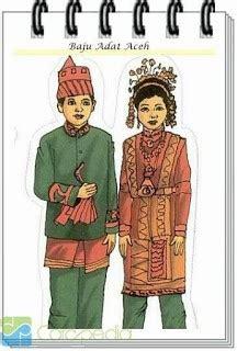 Pakaian Adat Baju Daerah Istimewa Aceh L nanggroe aceh darussalam