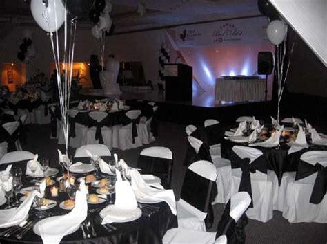 50th Birthday Party Theme   Elegant Black & White