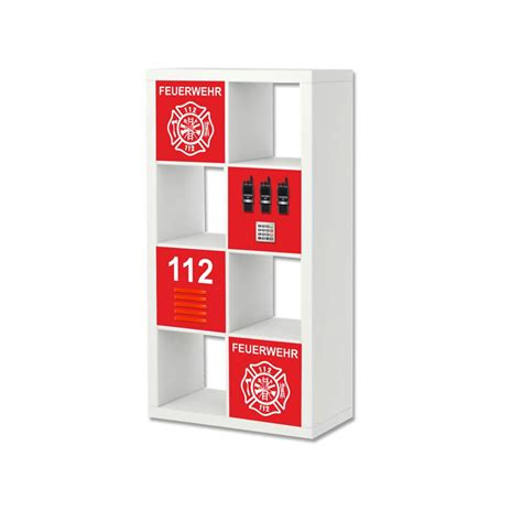 Feuerwehr Aufkleber by Feuerwehr Aufkleber F 252 R Regal Expedit Kallax Ikea 2