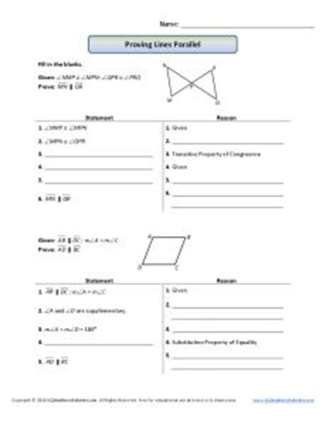Geometric Proofs Worksheet by Geometry Proofs Worksheets With Answers Writing Geometry