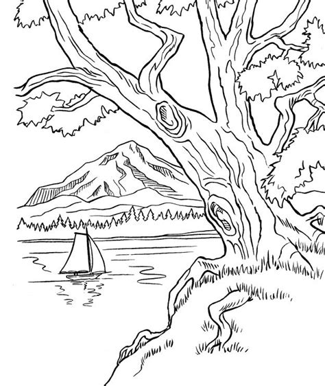 dibujos para colorear paisajes free coloring pages of colorear un pisaje