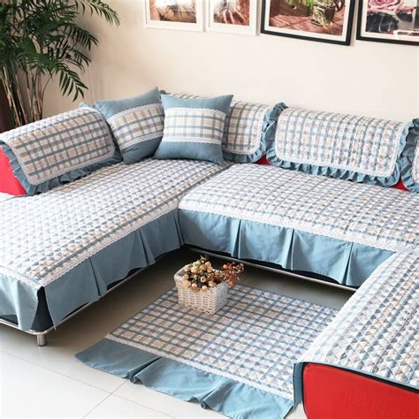 L Shaped Covers L Shape Sofa Set Covers India Okaycreations Net