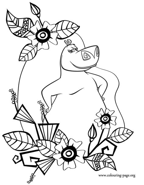 Madagascar 3 Coloring Pages Printable Coloring Pages Madagascar Coloring Pages
