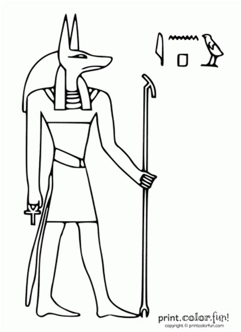 coloring pages house of anubis egyptian god anubis coloring page print color fun
