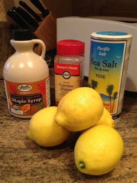 Does Lemon And Maple Syrup Detox Work by The Master Cleanse Cayenne Maple Syrup And Lemon Cleanse