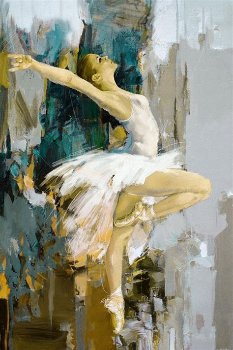 Ideas For Painting by Divine Dance Paintings That Make You See The Movement In
