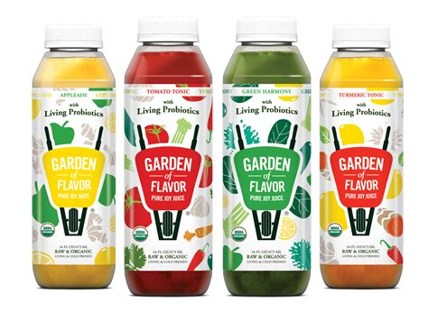Cold Pressed Juice Ruby Root garden of flavor introduces probiotic cultures to four organic cold pressed juices bevnet