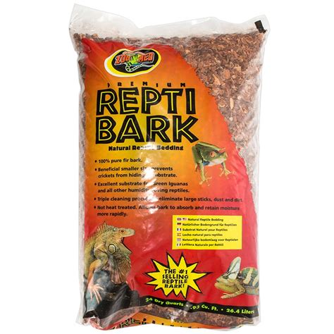 zoo med zoo med premium repti bark natural reptile bedding