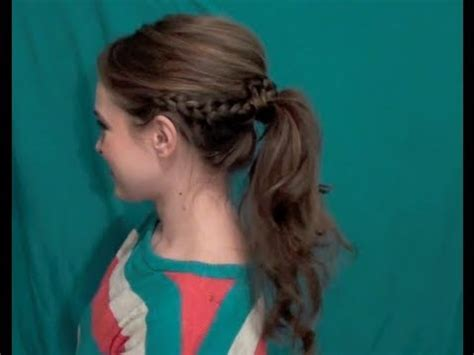 easy hairstyles for school trip perfectly dressed up pony back to school updos 1
