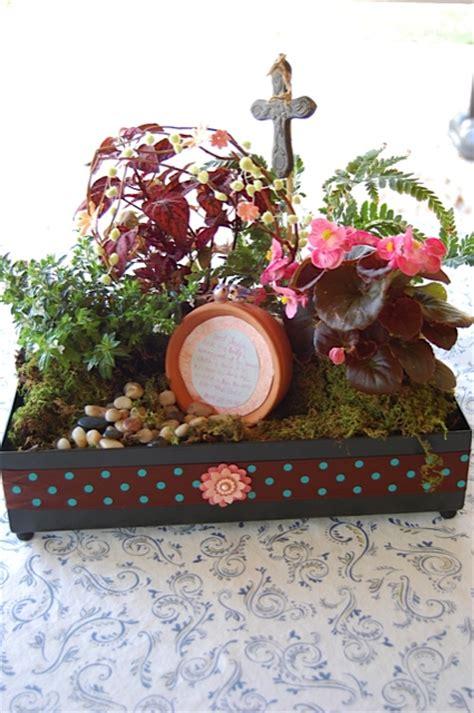 easter garden craft ideas an easter garden celebrating the empty happy home