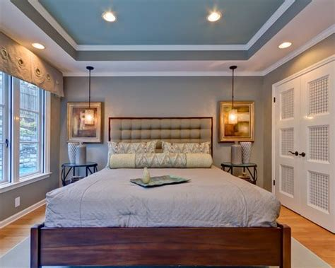 bedroom tray ceiling home design ideas pictures remodel  decor