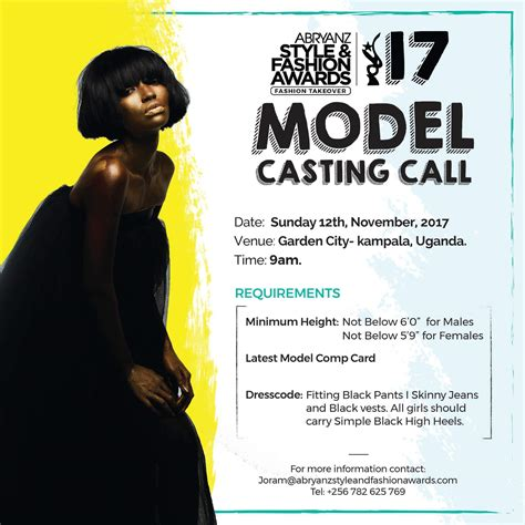 What Of Model Would You Want To Be by Do You Want To Be A Model On Asfa2017 Ghafla Uganda