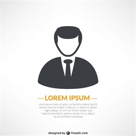 avatar template business avatar template vector free
