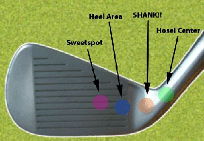 how to cure a shank golf swing curing shank by placing a tee next to the golf ball