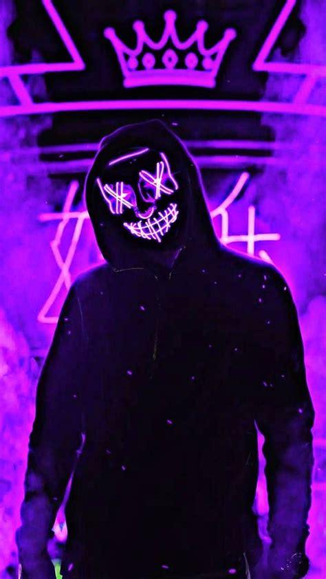 neon man purple purple wallpaper neon wallpaper joker
