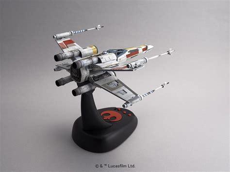 Wars Model Kit X Wing Starfighter 1 48 Moving Edition Bandai Japa wars x wing starfighter moving edition 1 48 scale model kit