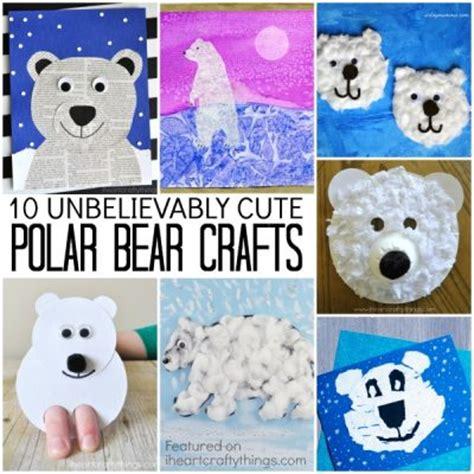 Winter Animal Crafts - i crafty things