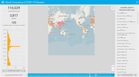 coronavirus maps  track  spread  covid
