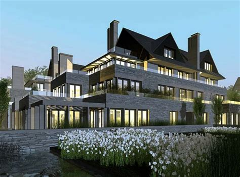 Size Of Two Car Garage by Edgemere Estate To Be Replaced With Luxury Condos