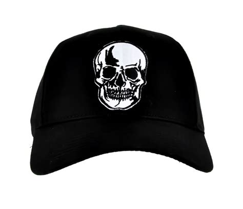 skull hat horror baseball cap creepy thrasher