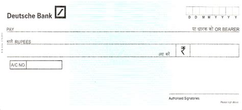 deutsche bank cheque cheque printing software cheque images and cheque photos
