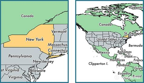 map usa states new york where is new york state where is new york located in