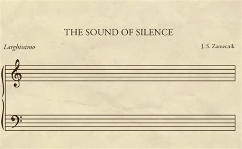 the sound of silence the irony of the sound of silence born geek