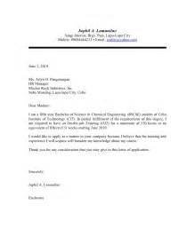 application letter for ojt housekeeping creative writing