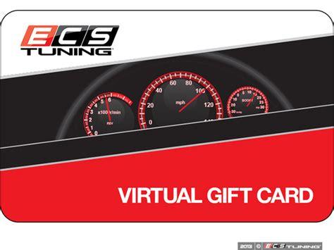 Virtual Gift Card - ecs ecsegc virtual gift card