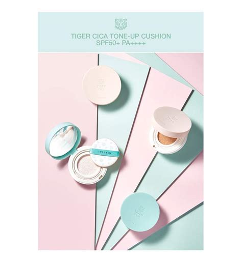Its My Tone Up Cushion box korea it s skin tiger cica tone up cushion spf50 pa 15g best price and fast