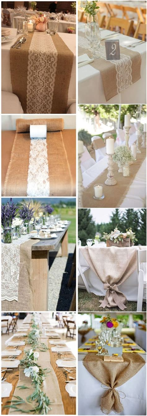 25 best ideas about burlap wedding tables on