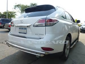 vanguard 10 15 lexus rx350 rear bumper protector grill
