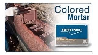 colored mortar colored mortar spec mixspec mix